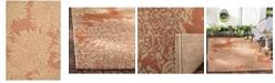 "Martha Stewart Collection Chrysanthemum MSR4125A Terracotta 2'7"" x 5' Area Rug"