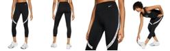 Nike Women's One Logo Cropped Leggings