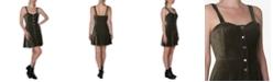 Ultra Flirt Juniors' Corduroy A-Line Dress
