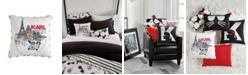 "Karl Lagerfeld Paris Sidecar Decorative Pillow, 18"" x 18"""