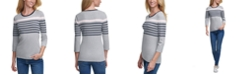 Tommy Hilfiger Striped Cotton Top
