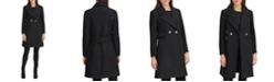 Karl Lagerfeld Paris Women's Double Breasted Coat