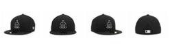 New Era Seattle Mariners Black and White Fashion 59FIFTY Cap