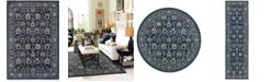 JHB Design Tidewater Fortune Navy/Grey Area Rugs