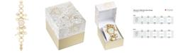 Charter Club Women's Gold-Tone Key Charm Bracelet Watch 26mm, Created for Macy's
