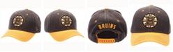 Zephyr Boston Bruins Anchorage Snapback Cap
