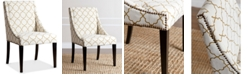 Abbyson Living CLOSEOUT! Feltyn Swoop Dining Chair