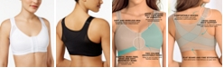 Leonisa Front Closure, Back Support Posture Corrector Bra 011473, Created for Macy's