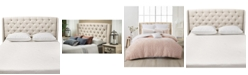 Noble House Jarson Wingback Tufted Headboard - Full/Queen, Quick Ship