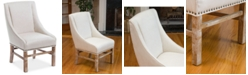 Noble House Salvan Dining Chair, Quick Ship