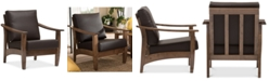 Furniture Pierce Lounge Chair, Quick Ship