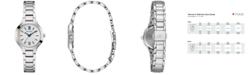 Bulova Women's Classic Stainless Steel Bracelet Watch 28mm