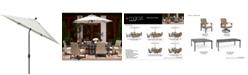Furniture CLOSEOUT! Genevieve Outdoor 9' Auto-Tilt Umbrella with Sunbrella® Fabric, Created for Macy's