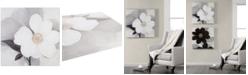 "JLA Home   Madison Park Midday Bloom 30"" x 30"" Hand-Embellished Canvas Print"