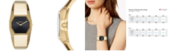 DKNY Women's Beekman Gold-Tone Stainless Steel Bangle Bracelet Watch 32mm, Created for Macy's