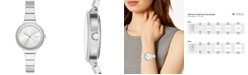 DKNY Women's Astoria Silver-Tone Bracelet Watch 32mm, Created for Macy's