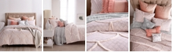Peri Chenille Scallop King Duvet Cover