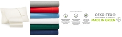 Martha Stewart Collection 100% Cotton Flannel 4-Pc. Full Sheet Set, Created for Macy's