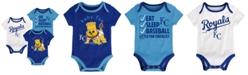 Outerstuff Kansas City Royals Play Ball 3-Piece Set, Infants (0-9 Months)