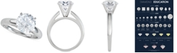 Macy's Diamond Solitaire Engagement Ring (3-1/2 ct. t.w.) in 14k White Gold