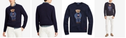 Polo Ralph Lauren Men's Polo Bear Classic Fit Wool Blend Sweater