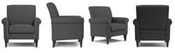 Handy Living Janet Linen Arm Chair