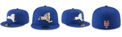 New Era New York Mets Gold Stated 59FIFTY FITTED Cap