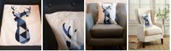 De Moocci Outdoor Pillow Shell - Animal Print - Deer