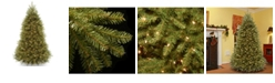 National Tree Company National Tree 9' Dunhill Fir Tree with 900 Clear Lights and PowerConnect ™