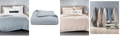 Hotel Collection CLOSEOUT! Linen King Duvet Cover, Created for Macy's