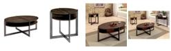 Furniture of America Prontus 2-Piece Table Set