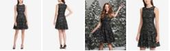 Tommy Hilfiger Lace Fit & Flare Dress