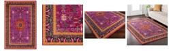 """Surya Anika ANI-1004 Bright Pink 18"""" Square Swatch"""