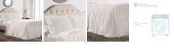 Lush Decor Ruffle Skirt 2-Piece Twin Bedspread Set