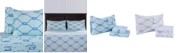 Berkshire Blanket & Home Co.® Rope Printed Microfleece Twin Sheet Set