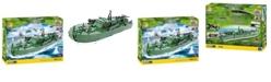 COBI Small Army World War II Motor Torpedo Boat PT 109 480 Piece Construction Blocks Building Kit