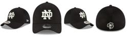 New Era Notre Dame Fighting Irish Black White Neo 39THIRTY Cap
