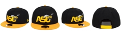 New Era Alabama State Hornets Black Team Color 9FIFTY Snapback Cap