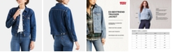 Levi's Women's Ex-Boyfriend Cotton Denim Trucker Jacket