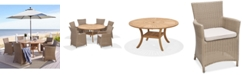 Furniture San Andres Teak Lazy Susan Outdoor Dining Collection, Created for Macy's