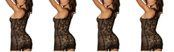 Dreamgirl Versatile Lace and Mesh Chemise