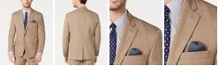 Lauren Ralph Lauren Men's Classic-Fit UltraFlex Stretch Light Brown Textured Suit Jacket