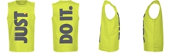 Nike Toddler Boys Just Do It-Print Sleeveless Cotton Tank Top