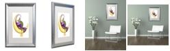 "Trademark Global Jennifer Nilsson Make a Wish - Dragon Matted Framed Art - 16"" x 20"" x 0.5"""
