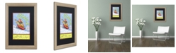 "Trademark Global Jennifer Nilsson Jingle All The Way Matted Framed Art - 16"" x 20"" x 0.5"""