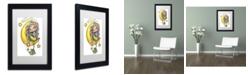 """Trademark Global Jennifer Nilsson She Hangs the Stars Matted Framed Art - 18"""" x 24"""" x 2"""""""