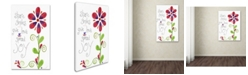 "Trademark Global Jennifer Nilsson Spread Joy Canvas Art - 11"" x 14"" x 0.5"""