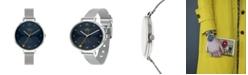 Lola Rose Orla Kiely Watch, Stainless Steel Mesh Bracelet
