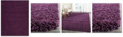 Safavieh Santa Monica Shag Purple 8' X 10' Area Rug