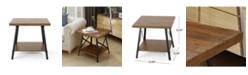 Noble House Camaran Industrial End Table